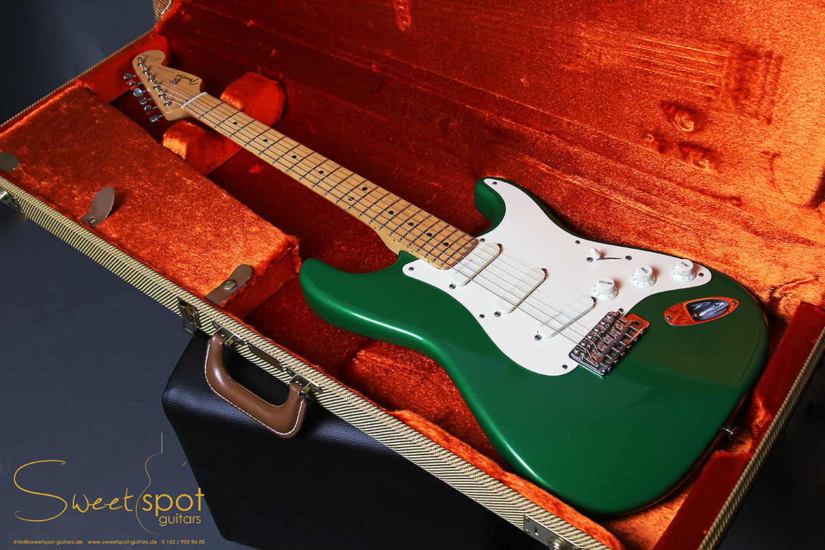 Gibson Guitars For Sale >> 1990 Fender 7 Up Green Stratocaster Eric Clapton Signature ...