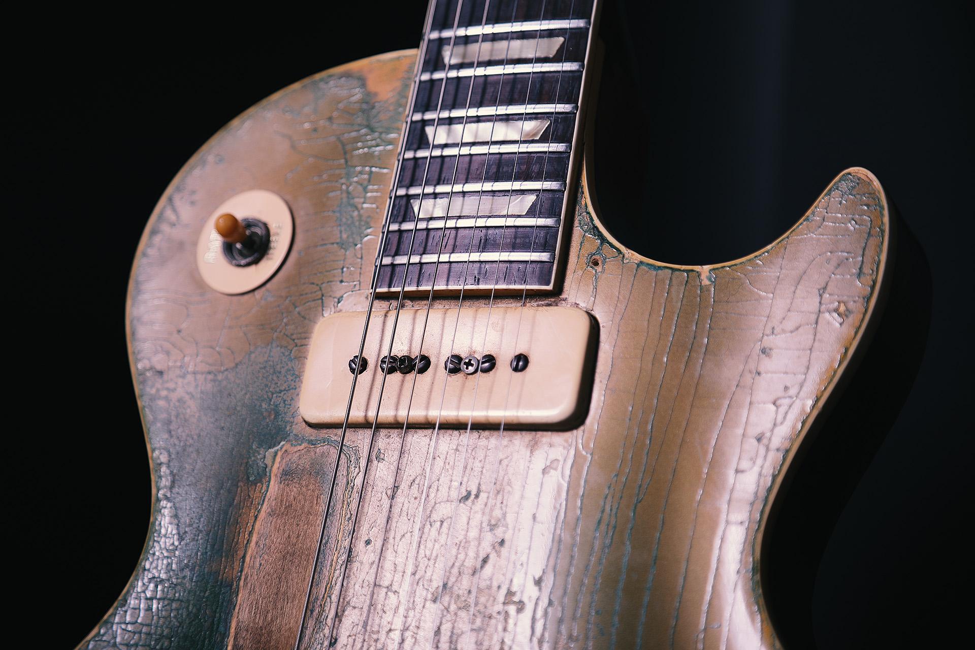 1952 1956 Gibson Les Paul Standard Conversion Goldtop