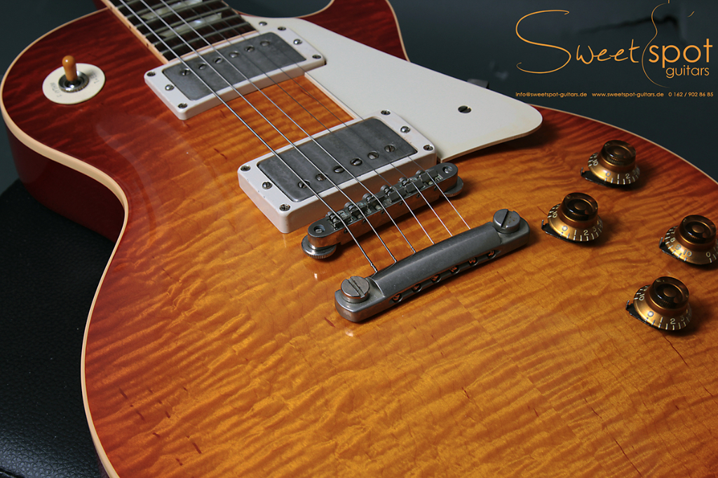 2010 Gibson Don Felder Hotel California Les Paul Aged Cherry Burst ...