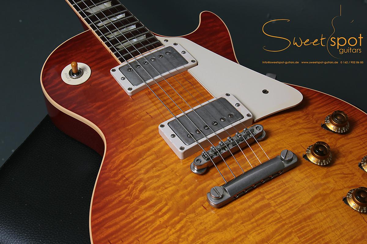 2010 Gibson Don Felder Hotel California Les Paul Aged Cherry Burst ...